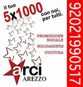 5 x mille Arci Arezzo